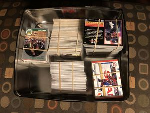 Assortment of Baseball, Football, and Basketball trading cards. $25 for Sale in Raynham, MA