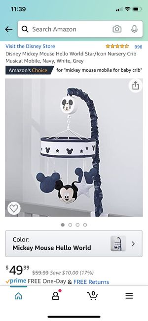 Mickey Mouse mobile for Sale in Palm Beach Gardens, FL