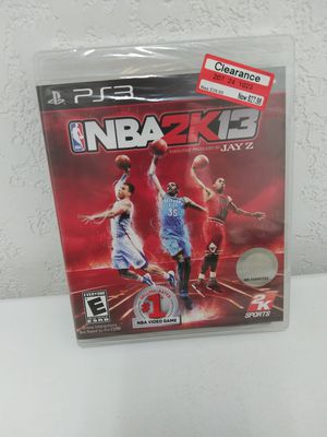 Sealed Ps3 nba 2k13 for Sale in Irwindale, CA