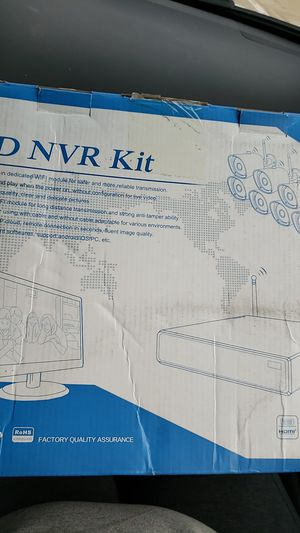 HD NVR KIT SECURITY SYSTEM for Sale in Murraysville, WV