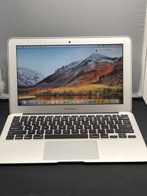 "Apple MacBook Air 11"" inch 1.7ghz i5 64gb 2gb ram mid 2012 with Mac OS 10.13 high Sierra ++Microsoft office and apple OEM CHARGER ,3MONTH WARRANTY for Sale in Dallas, TX"