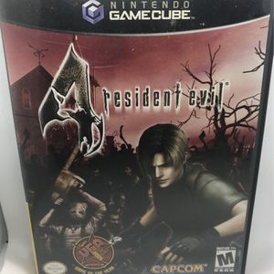 Resident Evil 4 Nintendo GameCube for Sale in Corona, CA