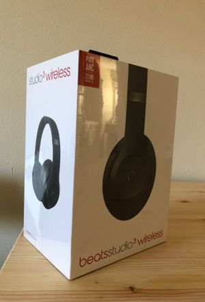 New Beats Studio 3 Wireless Headphones for Sale in Santa Cruz, CA