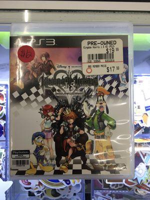 Kingdom Hearts 1.5 Remix - Playstation 3 (PS3) for Sale in San Bernardino, CA