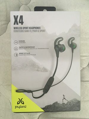 Jaybird X-4 Bluetooth Headphones for Sale in Wichita, KS