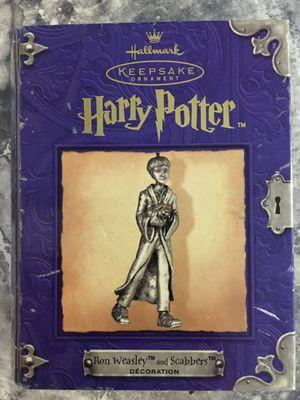 Harry Potter: Ron Weasley & Scabbers Hallmark Keepsake Ornament for Sale in Escondido, CA