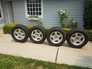 Set of 4 Mercedes Benz G55 AMG OEM Wheels & Tires for Sale in Laguna Niguel, CA