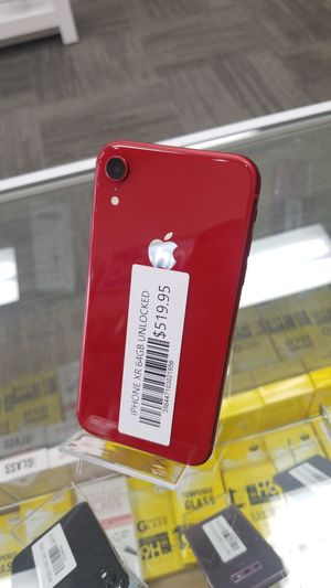 iPhone XR 64GB Unlocked for Sale in Southfield, MI