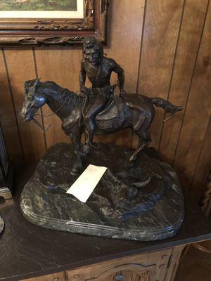 Frederic Remington Vigil Statue for Sale in Petersburg, VA