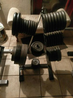 Gym Weight exercises equipment 150.00. obo for Sale in Tampa, FL