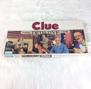 Parker Brothers Clue Detective Board Game 1986 for Sale in Phoenix, AZ