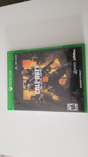 Xbox One Call Of Duty BO 4 for Sale in Whittier, CA
