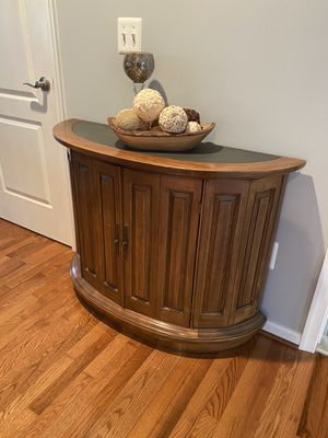Rounded entry table for Sale in Leesburg, VA
