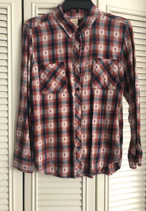 Western style plaid flannel for Sale in Livonia, MI