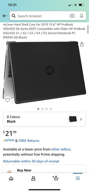 hp laptop cover for Sale in Las Vegas, NV