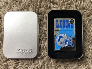 Lions zippo for Sale in Clinton Township, MI