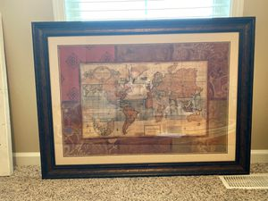 Glass Framed Wall Art. •MOVING• for Sale in Evansville, IN
