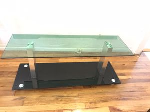 Glass coffee/tv table for Sale in Los Angeles, CA