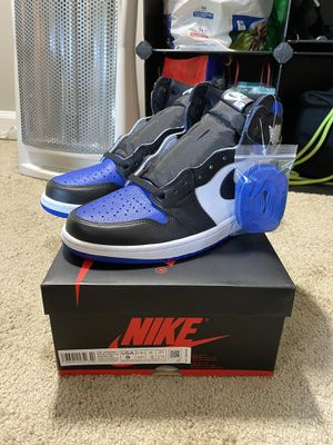 "Air Jordan 1 High ""Royal Toe"" (Size 9 DEADSTOCK) for Sale in Aspen Hill, MD"