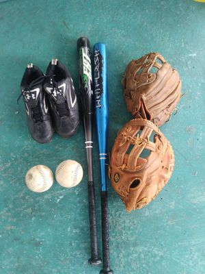 Softball equipment and Equipment bag for Sale in Tarpon Springs, FL