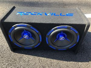 """Subwoofer 10"""" 2400 watts cada una for Sale in Silver Spring, MD"""