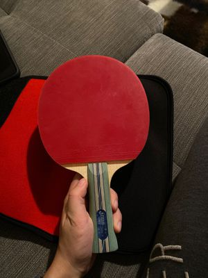 Ping pong paddle with a cover for Sale in Gilbert, AZ