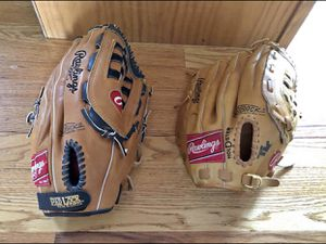Rawlings baseball gloves. 15 each for Sale in Jackson Township, NJ