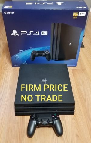 PS4 PRO 2019 MODEL, FIRM PRICE, GREAT CONDITION, NO TRADE, READ DESCRIPTION FOR DETAILS for Sale in Garden Grove, CA