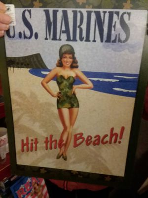 Vintage Metal Millitary Signs for Sale in Sunbury, OH