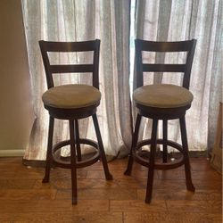 Suede Barstool Set for Sale in Irwindale,  CA