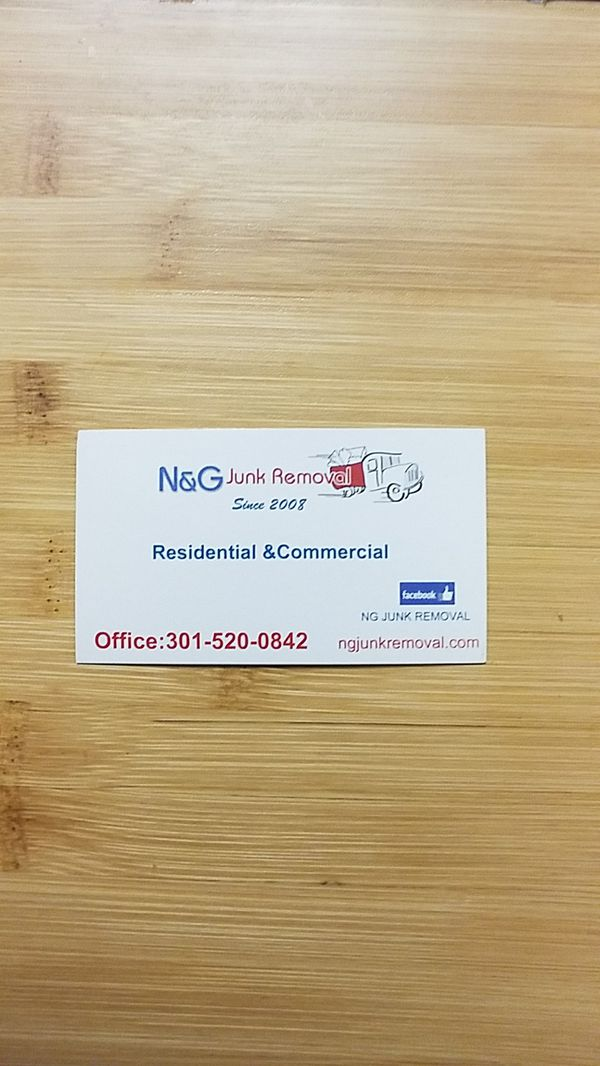 N&G Junk Removal