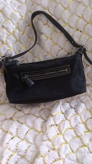 Black shoulder coach bag for Sale in Mesa, AZ