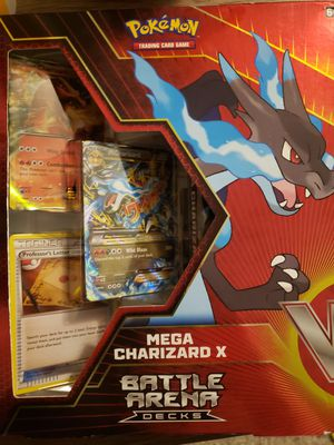Pokemon Mega Chrizard X Battle Arena Deck for Sale in Everett, WA