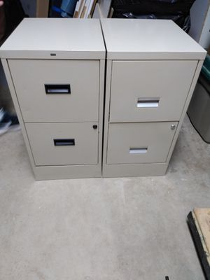 2 Drawer File Cabinet for Sale in Seymour, CT