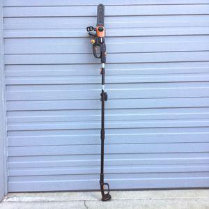 "Worx 20V 10"" Cordless Pole Saw / Chain Saw / Chainsaw for Sale in Auburn, WA"