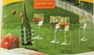 5 Piece Outdoor Wine Stake Set for Sale in Lancaster, PA