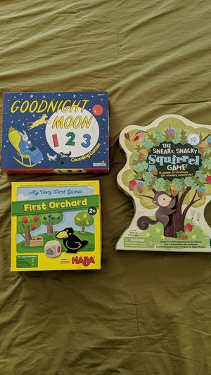 Young kids board games for Sale in Fuquay Varina, NC