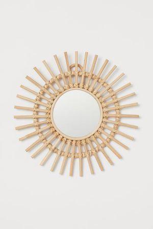 Small mirror w/ Rattan Frame for Sale in Hayward, CA