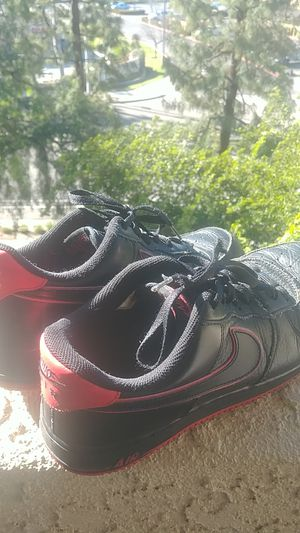 Black/Red Airforce Ones US MENS 11 for Sale in San Diego, CA