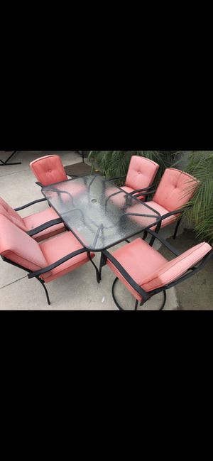 Patio Table with Chairs for Sale in South Gate, CA