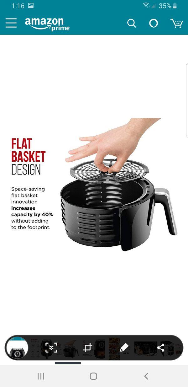 Chefman Air Fryer 3.6 Quartz