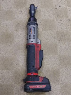 "12V. 3/8"" Cordless Ratchet. (No Charger) but works fine for Sale in West Chicago, IL"