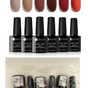 Brand new 6 Bottles Fall Winter Color Gel Nail Polish Set for(pick up only) for Sale in Alexandria, VA