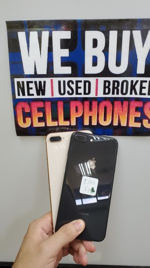 IPHONE 8 PLUS 64GB UNLOCKED FOR ALL CARRIERS for Sale in Garland, TX