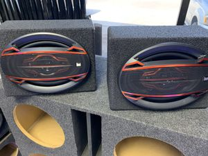6x9 PRO BOXES LOADED WITH SPEAKERS JL AUDIO for Sale in Irving, TX