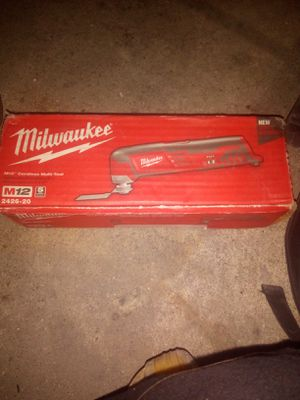 Brand New in box. Milwaukee M12 12-Volt Lithium-Ion Cordless Oscillating Multi-Tool (Tool-Only) for Sale in Austin, TX