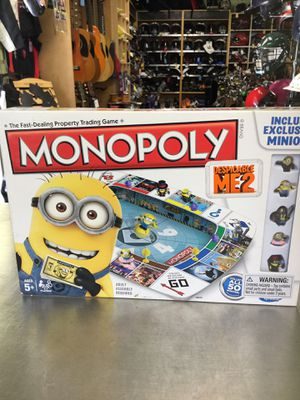 Monopoly Despicable Me 2 Game for Sale in Matawan, NJ
