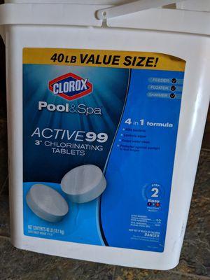 Clorox pool & spa 40 lb. for Sale in Virginia Beach, VA