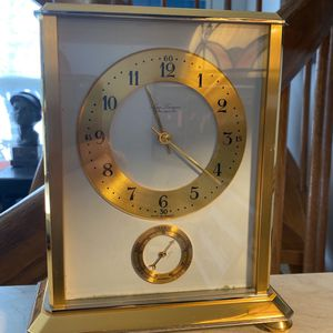 Desk clock made in France for Sale in Boca Raton, FL