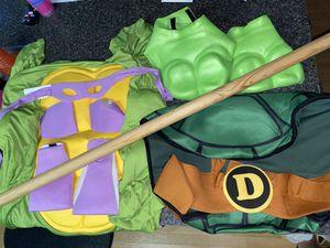 Teenage mutant ninja turtles adult costume Halloween Donatello men's men's costume for Sale in Phoenix, AZ